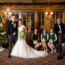 Wedding of Charlotte and Alan at Swan Hotel, Bedford