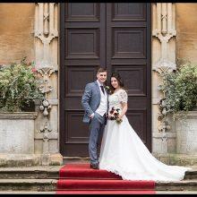 Emily & Steven at Stoke Rochford Hall