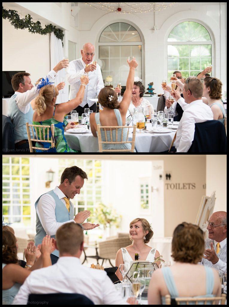 Irnham Hall wedding