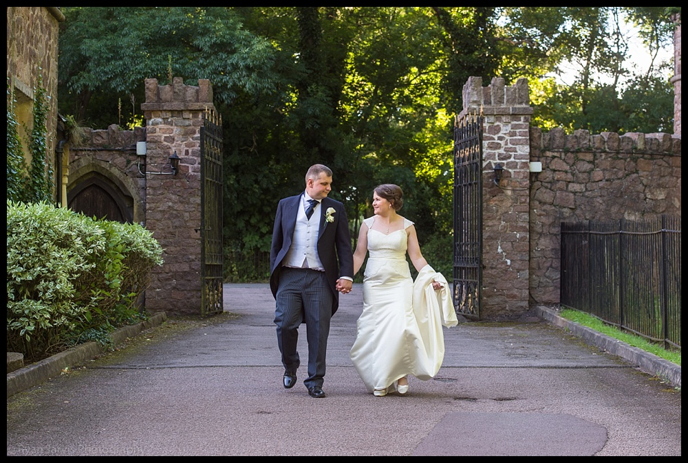 Natalie & Carl at Rothley Court Hotel