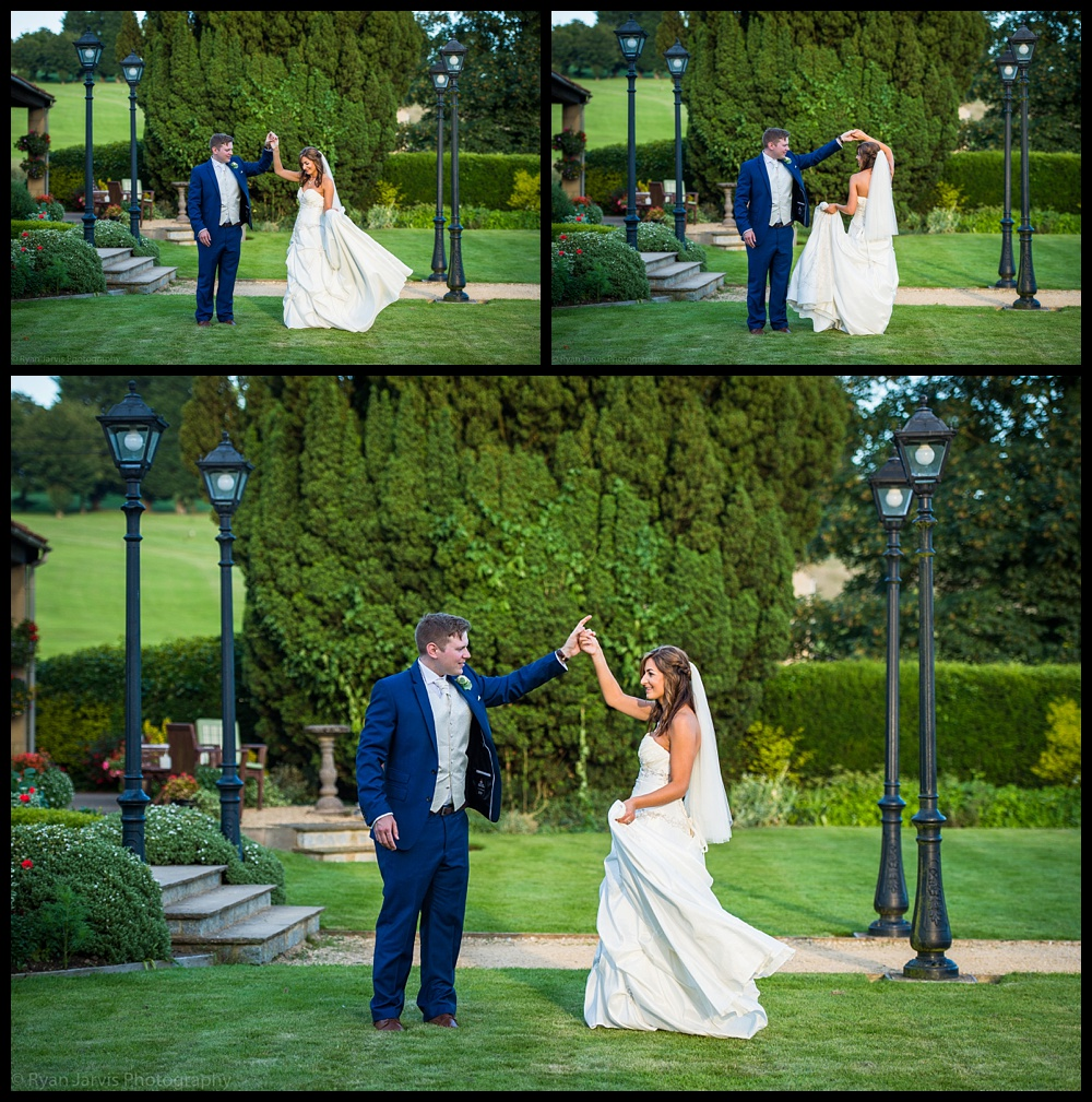 Sarah & Scott at the Toft Country House Hotel