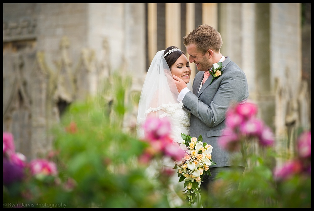 Emma & Ian at St Mary's Church, Whittlesey