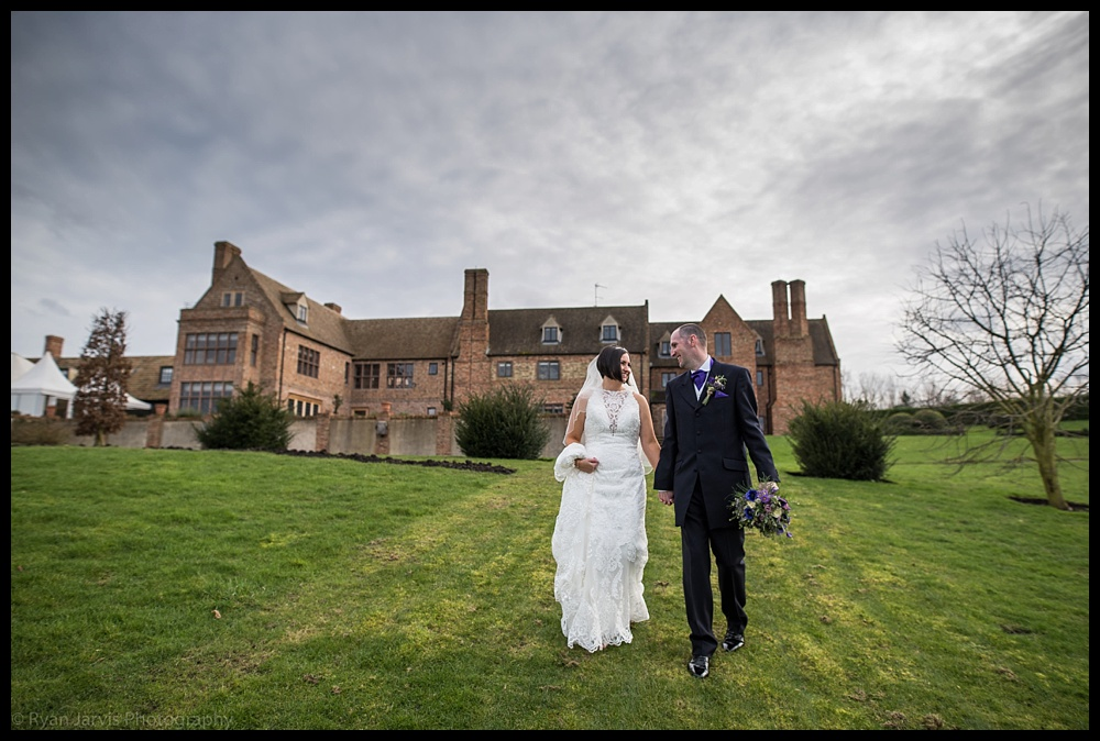Alison & David at The Old Hall, Ely.