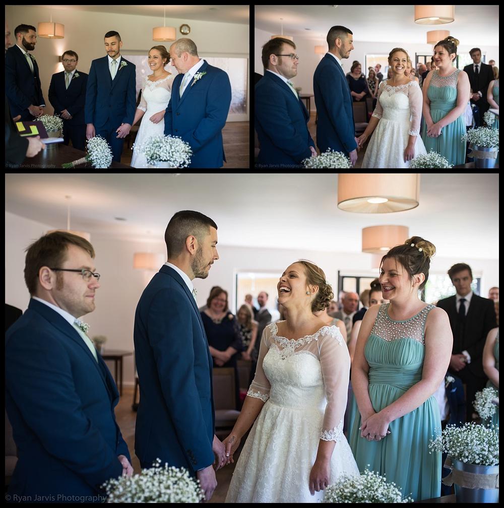 Hothorpe Woodland Wedding