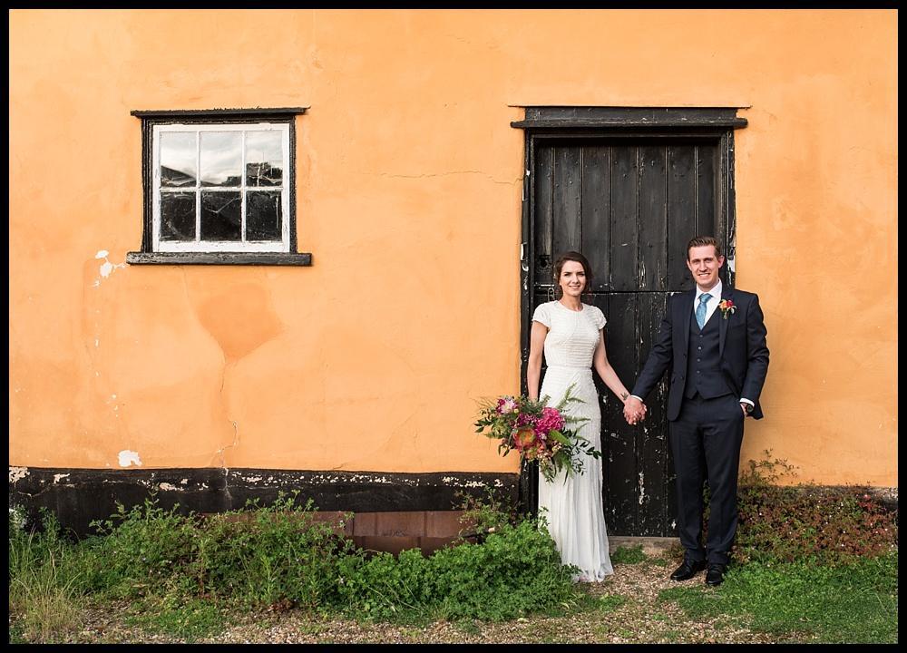 Mandy & Jack at Blackthorpe Barn