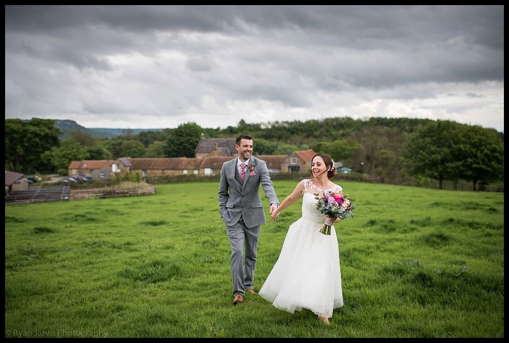 Helen & Paul at West Acre Lodge, North Yorkshire