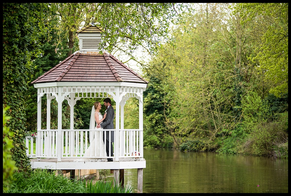 Jen & Chris at Sheene Mill