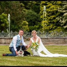 Donna & Luke at Irnham Hall