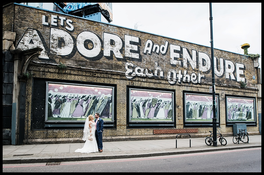 Jo & Damian's London wedding