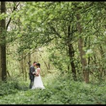 Michelle & Mark at Bassmead Manor Barns