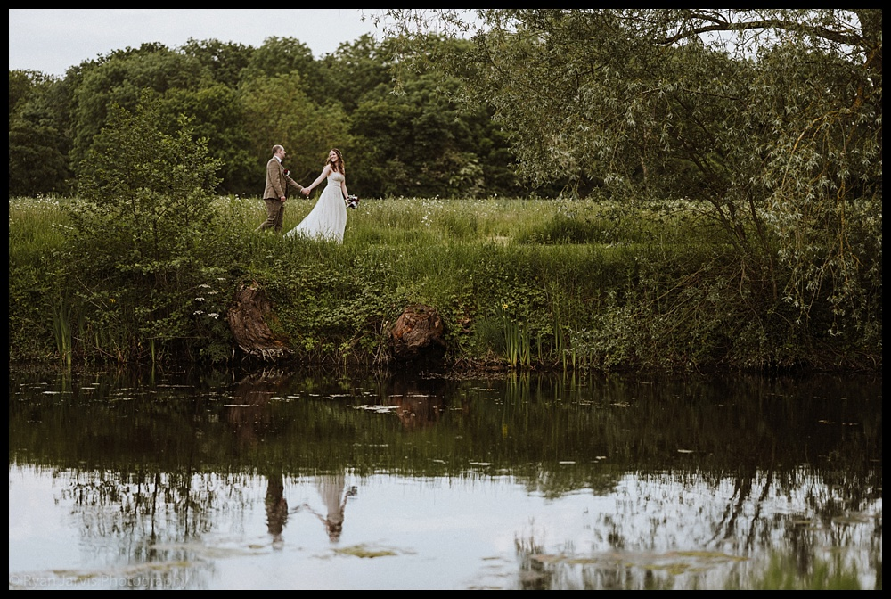 Becky & Floyd at The Granary Estates